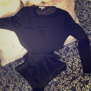 Deep V night out body Suit